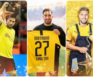 borussia dortmund and emre can image