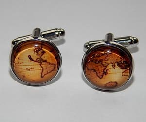 etsy, earth jewelry, and wedding cufflink image