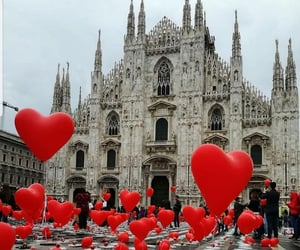 love, travel, and balloons image