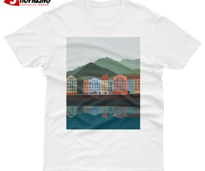 tourism vector t shirt image