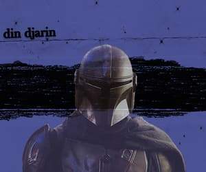 aesthetic, star wars, and the mandalorian image