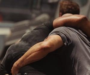Dwayne Johnson, movie, and Vin Diesel image
