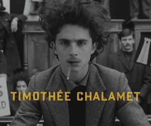 wes anderson, timothee chalamet, and the french dispatch image