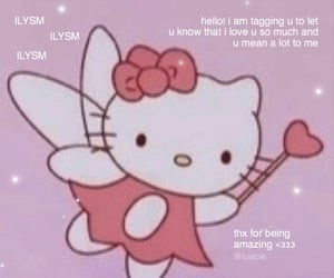 heart, hello kitty, and pastel image