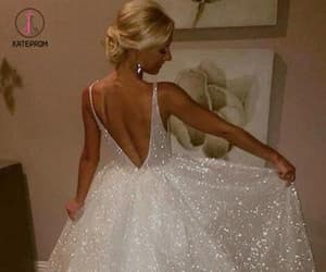 ball gowns, prom dresses, and sleeveless prom dress image