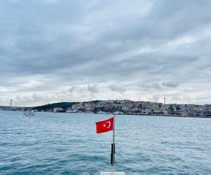 flag, bayrak, and istanbul image