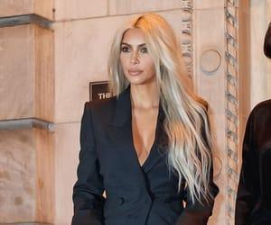 celebrity, hair, and kim kardashian image