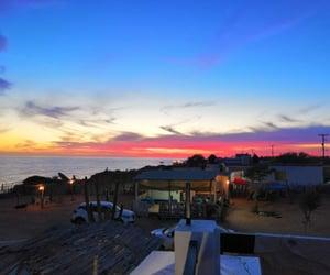 atardecer, beach, and playa image