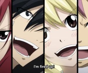 anime, fairy tail, and lucy heartfilia image