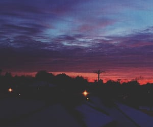 aesthetic, sunset, and depressed image