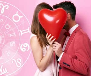 horoscope, Valentine's Day, and love image