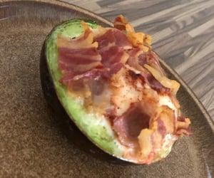 avocado, yummy, and breakfast image