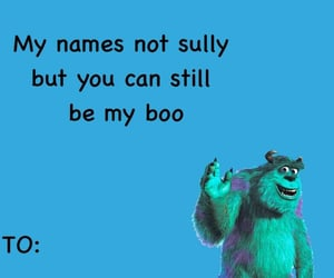 blue, monsters inc, and sully image
