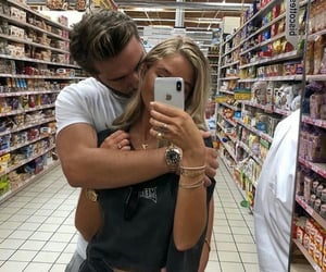 Relationship, hug, and cute image