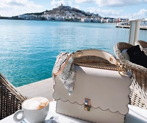 bag, style, and coffee image
