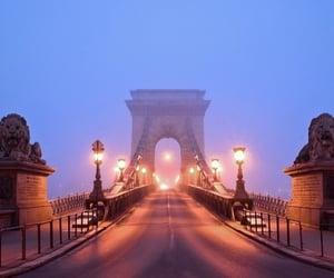 beautiful, bridge, and budapest image