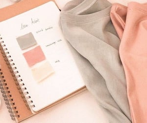 aesthetic, couleur, and organisation image