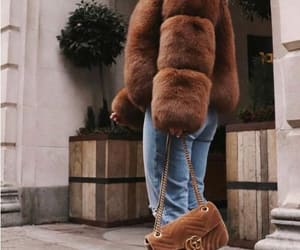 chunky coats, fur coat, and furry vests image