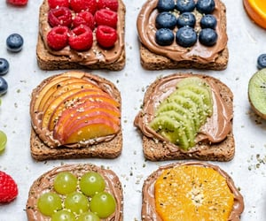 food, sandwich, and vegetarian image