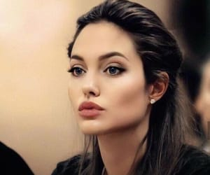 Angelina Jolie and jaw line image