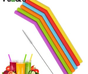 flexible drinking straw image