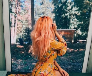 beauty, summer, and hair color image