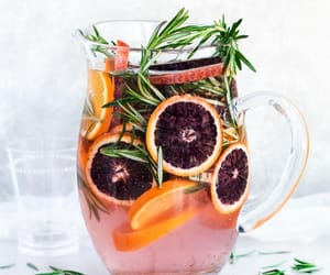 drinks, refreshing, and infused water image