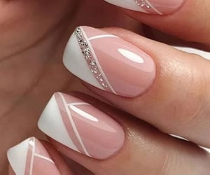 french, manicure, and Nude image