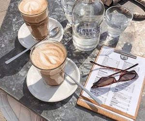 breakfast, goals, and cafe image