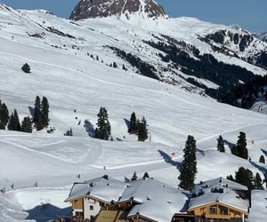 austria, snow, and beautiful image