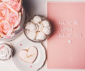 glam, sweets, and heart image
