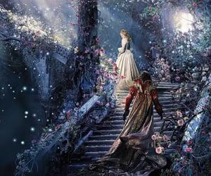 fantasy, flowers, and princess image