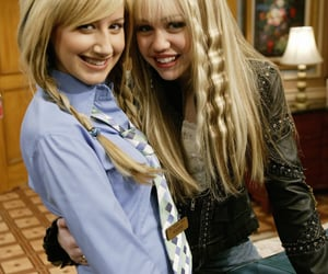 hannah montana, miley cyrus, and ashley tisdale image