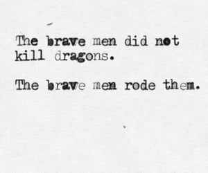 dragon, quotes, and brave image