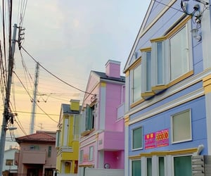 architecture, buildings, and colorful image