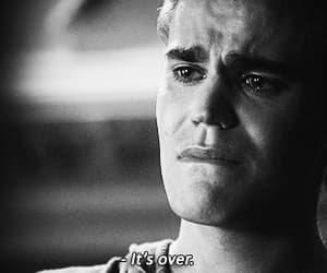 crying, sad, and the vampire diaries image