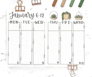 green, january, and week image