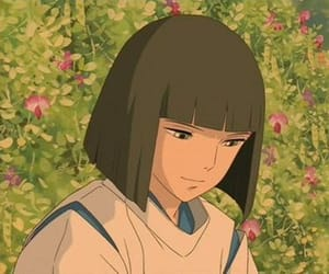 spirited away, anime, and haku image