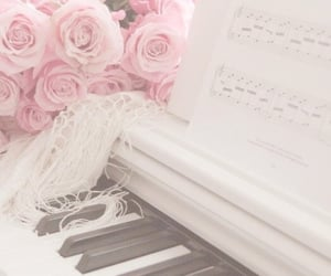 aesthetic, pastel, and white image