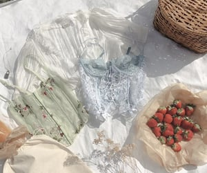 fruit, indie, and lace image