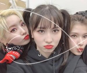 momo, sana, and dahyun image