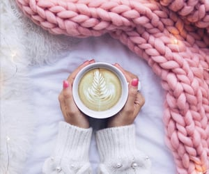 blanket, coffee time, and coffee relax image