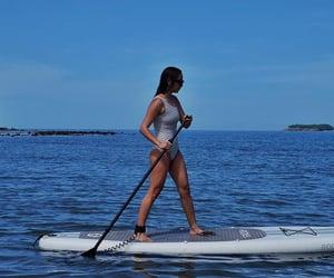 goa, kayaking, and surf board image