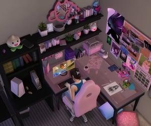 doll house, pink, and kawaii image