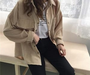aesthetic, dress, and brown image