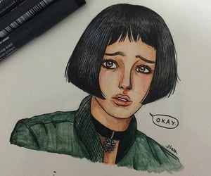 draw, leon the professional, and drawing image