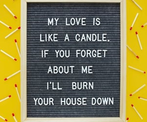 candle, cute, and love image