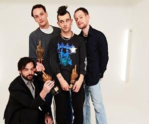 band, matty healy, and adam hann image