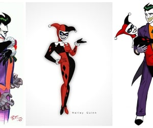 joker, harleyquinn, and mylove ​ image