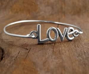 bracelets, love, and valentines image